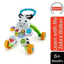 Fisher-Price Learn with Me Zebra Walker, Electronic Educational Toy