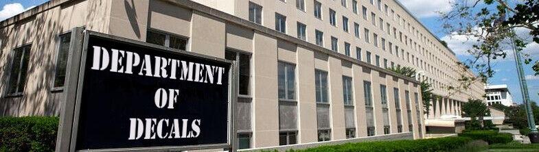 Department of Decals