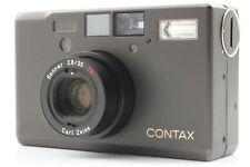 [Near MINT] Contax T3 Titan Black Double Teeth 35mm Point & Shoot From JAPAN