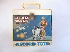 "Vintage 1982 Star Wars Empire Strikes Back Vinyl 7"" 45 RPM Record Tote"