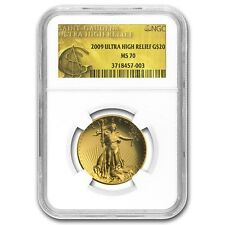 2009 US Gold $20 Ultra High Relief Double Eagle NGC MS70