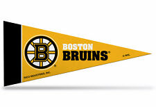 """Offically Licensed NHL Boston Bruins Mini Pennant  9""""x4"""" Made in USA"""
