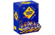Fazer Tyrkisk Peber Original Lollipop  Candy 9 g * 130 pcs 2.97lb Finland