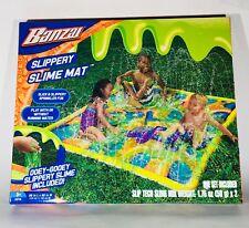 """NEW"" Banzai Slippery Slime Mat (Backyard Outdoor Slimy Summer Splash Fun)"
