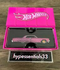 2021 Hot Wheels RLC Special '64 Impala Lowrider The Rose'n One Pink #14039/20000