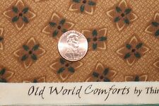 """""""OLD WORLD COMFORTS"""" THIMBLEBERRIES QUILT FABRIC BTY FOR RJR FABRICS 1048-1"""