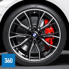 "Genuine BMW 5 Series G30 20"" 669m Sport Alloy Wheels PIRELLI Tyres TPMS"