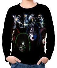 Kiss Kinder Jungen Langarm T-Shirt wc2 ael20018
