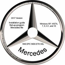 Mercedes 2017 WIS EPC WDS ETK SSL Workshop Repair Manual - VirtualBox version