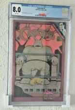 CGC Graded comic book display / wall mount . LOW profile -Fast Shipping ! White
