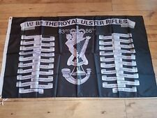 Royal Ulster Rifles Battle honoursFlag 3X5FT