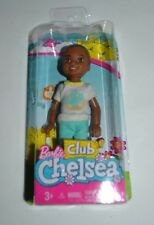 2017 / 2018 NEW RELEASE BARBIE CLUB CHELSEA BOY DOLL AFRICAN AMERICAN FHK93