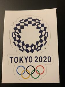 "2020 2021 Tokyo Olympic Sticker - 3.8"" Tall - Japan - Summer Games Logo"