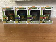 Tortues Pop Funko. TMNT 8 bits. Leonardo. RAPHAEL. Donatello. Michel-Ange