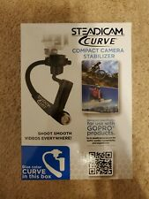 Steadicam Curve Compact Camera Stabilizer For Gopro Blue New