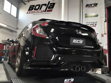 Fits 2018~2019 Honda Civic Sport Hatch 1.5T Borla S-Type Cat-Back Exhaust 140739