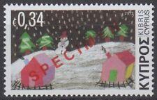 Specimen, Cyprus 2013 Christmas, Snowman