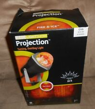 LED Lightshow Projection Halloween Stake Light - Fire & Ice - NEW in Box