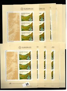CC 10X PORTUGAL - MNH - EUROPA CEPT 1983 - MADEIRS - NATURE - MOUNTAINS