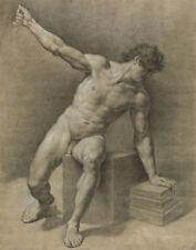 Maron von Anton Male Nude Print 11 x 14   #3865