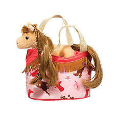Douglas Toys Gold Princess Sak with Tan Horse, 7""