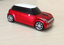 2.4Ghz Wireless Mouse Mini Cooper Car USB Optical Mice led for PC Laptop Mac W10