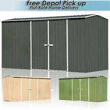 ABSCO ECO 3.74m(W) X 1.52m(D) X 1.95m GABLE ROOF GARDEN SHED Double Door Sheds