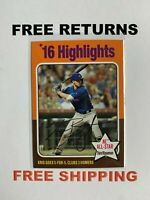 2019 Topps Archives Highlights Card #318 Kris Bryant Chicago Cubs MLB