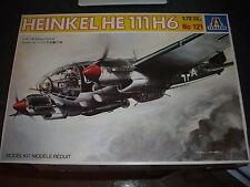 ITALERI  HEINKEL HE 111 H6   PLASTIC MODEL 1/72