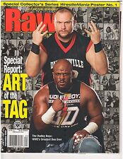 "2003 RAW Magazine Sept Issue : ""The Dudley Boyz"" Cover : No Poster WWF WWE {141}"