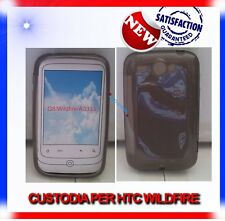 Pellicola+Custodia TPU CRYSTAL FUME per HTC WILDFIRE