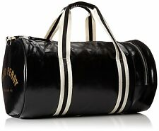 Fred Perry Classic Barrel Gym Bag Travel Fitness Black Mens *Limited stock*