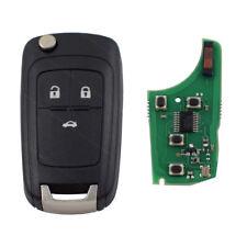 Auto Schlüssel 3 Tasten Fernbedienung 433 MHz Platine  ID46 NEU passend für Opel