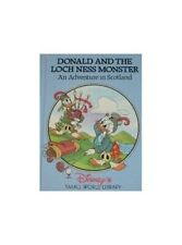 Donald and the Loch Ness Monster Scotland by Dsiney Book The Fast Free Shipping