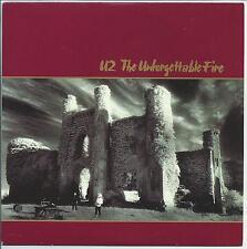 U2 The Unforgettable Fire Radio Sampler 2009 UK 3-trk promo-only CD U2UF1