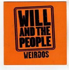 (FA736) Will & The People, Weirdos - 2009 DJ CD