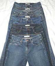 Lot of 5 Levi's sz 6 Long Denim Jeans, 1 - 505 Straight, 4 - 515 Boot Cut