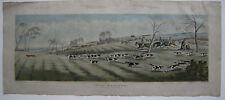 Fox Hunting Fuchsjagd Pferderennen Horse Racing Orig Lithographie Alken 1841