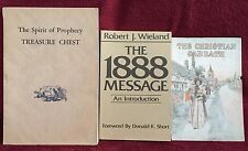 3 Old SDA Seventh-day Adventist Christian PB Books Instructional Inspirational