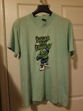Vintage 1993 Sugar Ray Finhead Comic Book Graphic Design T Shirt Size Large