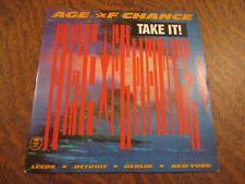 45 rpm age of chance take it!