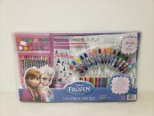 Disney Frozen 150+ Piece Art Set Markers Crayons Paint Sticker Brand New Sealed