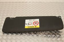BMW 3 SERIES F3X (2011-2015) PASSENGER SIDE LEFT SUN VISOR BLACK 8061313 (N145)