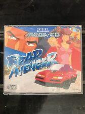 Road Avenger - Sega Mega CD Game 1993 RARE