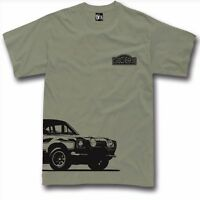 T-shirt for ford escort fans mk1 classic rally tshirt rs 2000 S-5XL 7 colors