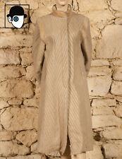 VINTAGE 70s LONG SHEEPSKIN COAT - UK 10 or fitted 12 - (Z)