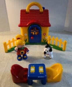 Tolo Toys First Friends Play House w/ Figures and Accessories
