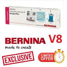 BERNINA Embroidery Software 8 Full Version + 220000 Designs ⭐ Exclusively ⭐