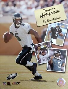 DONOVAN McNABB Philadelphia Eagles SCRAPBOOK SERIES 8X10 PHOTO