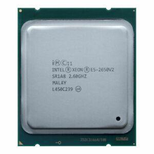 Intel Xeon E5-2650v2 2.60GHz 8Core 20MB 8.0GT/s Processors SR1A8